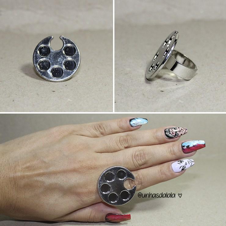 recebidos gear best, produtos gear best, recebidos, recebidos da lalá, anel para nail art