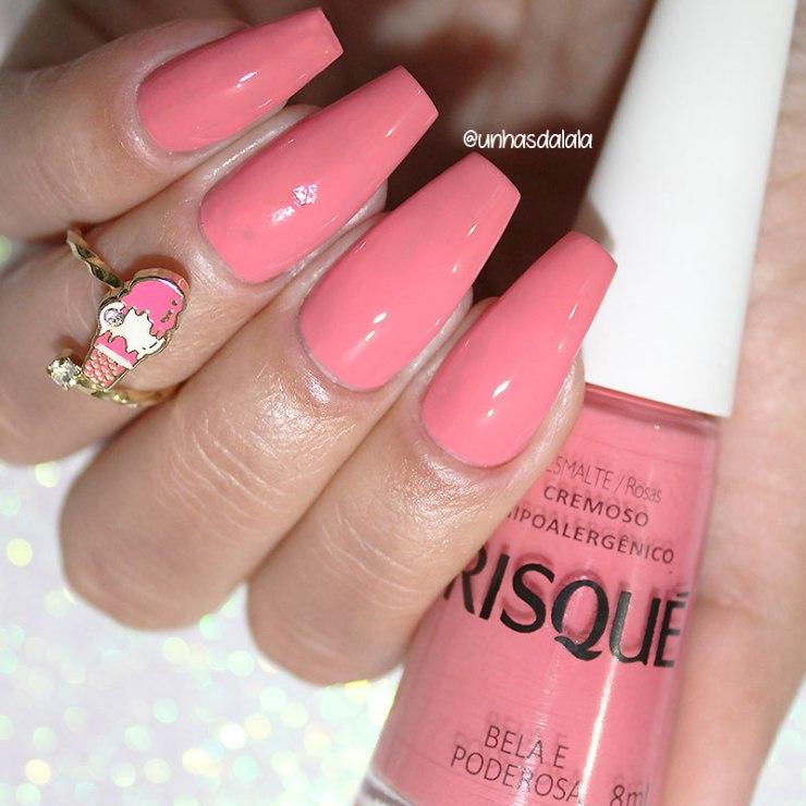 swatch risqué coleção ser pink é power, risqué, coleção risqué ser pink é power, pink, esmalte pink, esmalte rosa, rosa, risqué rosa, risqué pink, ser pink é power, risqué bela e poderosa