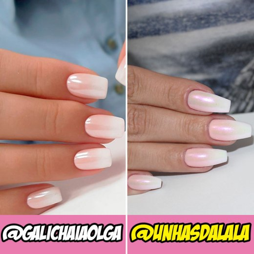 desafio unhas do instagram baby boomer