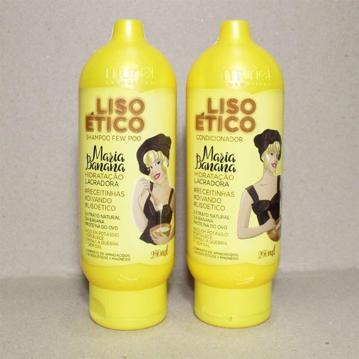 recebidos, unhas da lalá, blog unhas da lalá, nova muriel, liso ético, muriel liso ético, muriel maria banana, maria banana, liso ético maria banana, maria banana shampoo, maria banana condicionador, maria banana máscara, maria banana leave-in, cabelo, hidratação, tratamento capilar, cuidados cabelo
