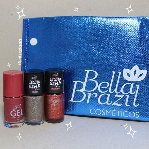 Esmaltes Bella Brazil Reebidos, recebidos, esmaltes bella brazil, bella brazil, esmaltes, esmalte liquid sand, esmalte efeito gel, liquid sand, unhas da lalá, unhas da lala, larissa leite, bella brazil