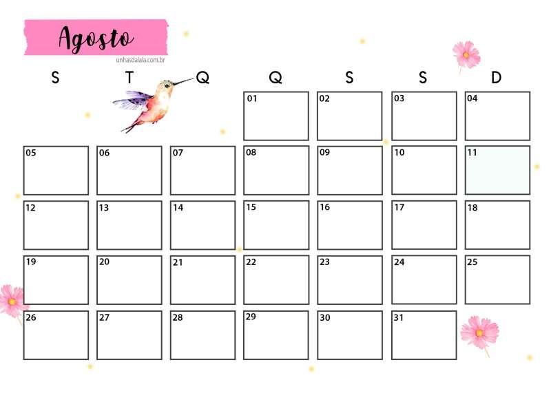 Agenda Planner 2019 Para Imprimir Unhas Da Lal 225