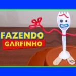 COMO FAZER GARFINHO (FORKY) TOY STORY 4