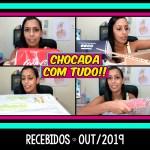 RECEBIDOS OUTUBRO 2019