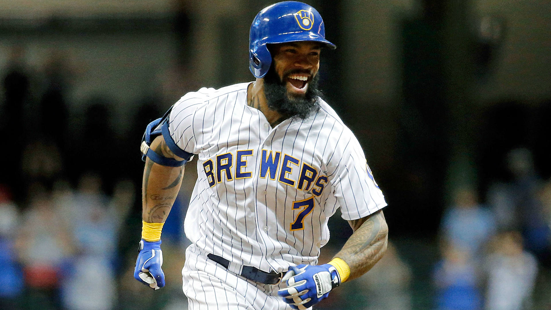 Can Eric Thames provide some lefty pop for the Yankees?