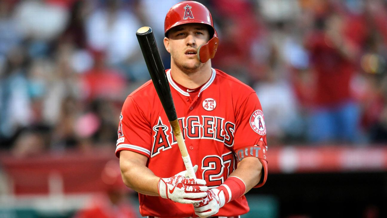 MLB Mike Trout