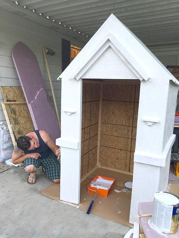 How to Build a Halloween Mausoleum! (2/6)