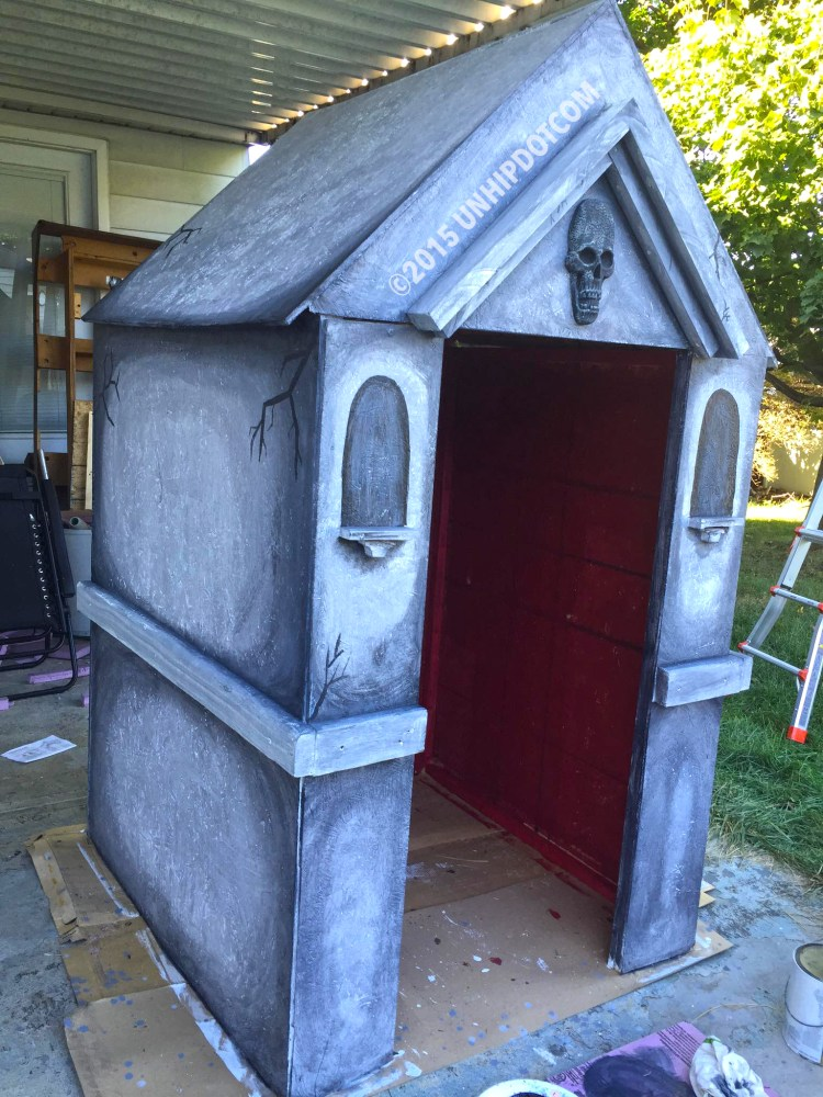 How to Build a Halloween Mausoleum! (3/6)