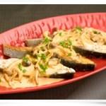<青空レストラン>カンパチムニエルきのこソース和えレシピ