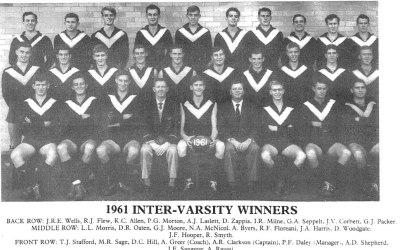 1961 Mens A1 & Intervarsity