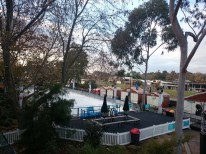 The awesome ice rink