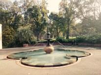Sparkling fountains