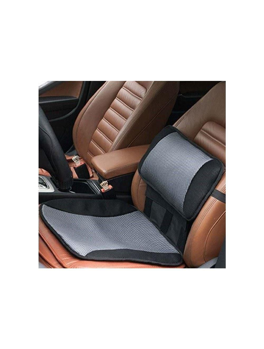 car cooling lumbar back support pillow seat cushion office chair home comfort