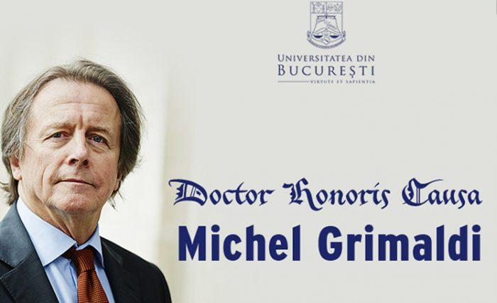 Michel Grimaldi, profesor la Universitatea Paris II news nou