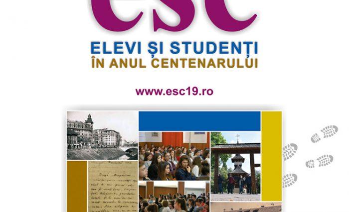 elevi și studenți în anul centenarului