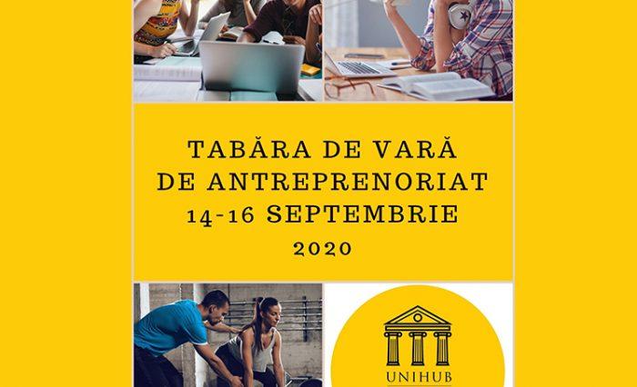 Tabără de antreprenoriat, poză participanți