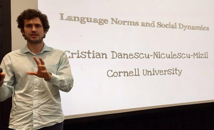 Cristian Danescu-Niculescu-Mizil stire