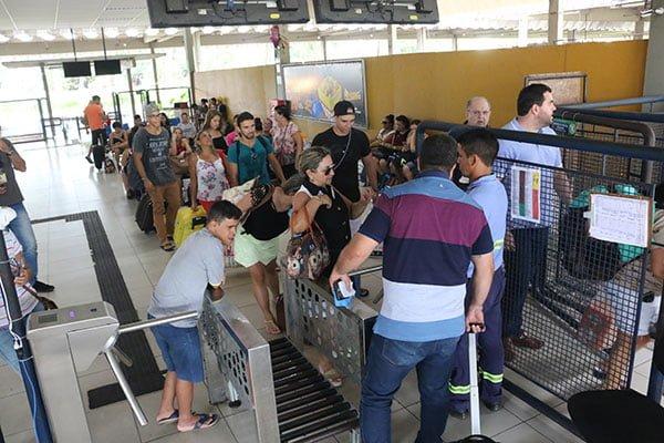 Durante período carnavalesco, 75 mil pessoas devem passar pelo Terminal Rodoviário de Natal