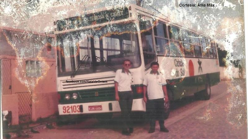 Os ônibus que pertenceram a empresa fluminense Flores e fizeram parte de diversas empresas do RN e Paraíba