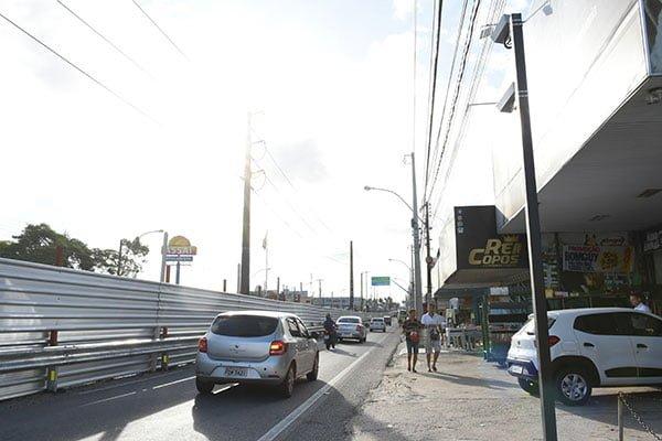Viaduto do Gancho: DNIT instala fiscalização eletrônica na Av. Tomaz Landim
