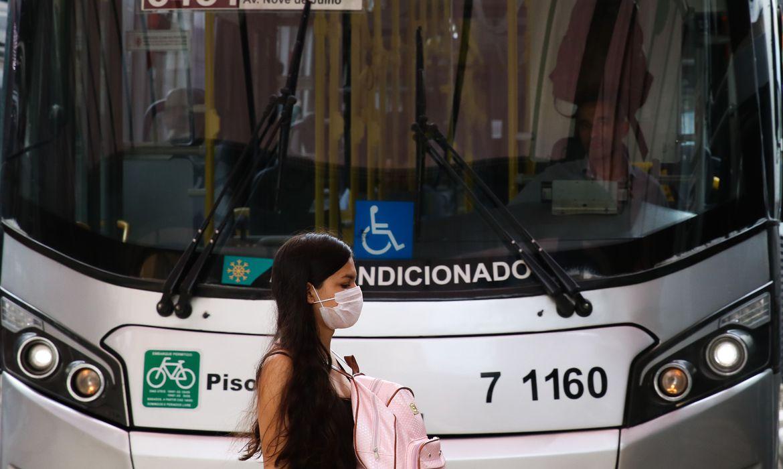 SP: Prefeitura de São Paulo disponibiliza 55% da frota de ônibus na cidade