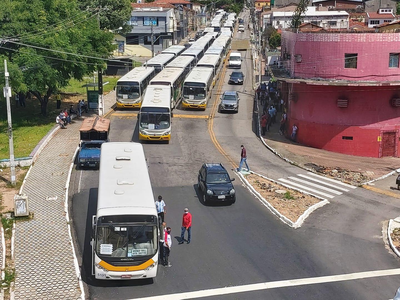 Natal: Rodoviários param transporte público pela quinta vez em duas semanas