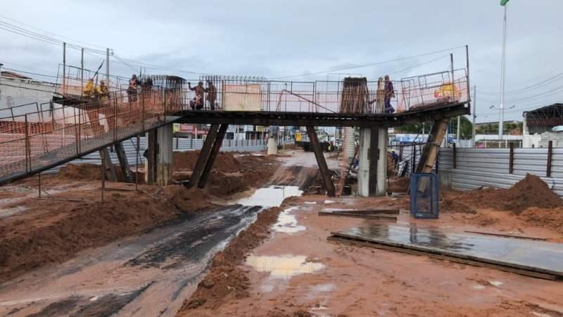 Viaduto do Gancho: DNIT anuncia mudança no trânsito no entorno da obra