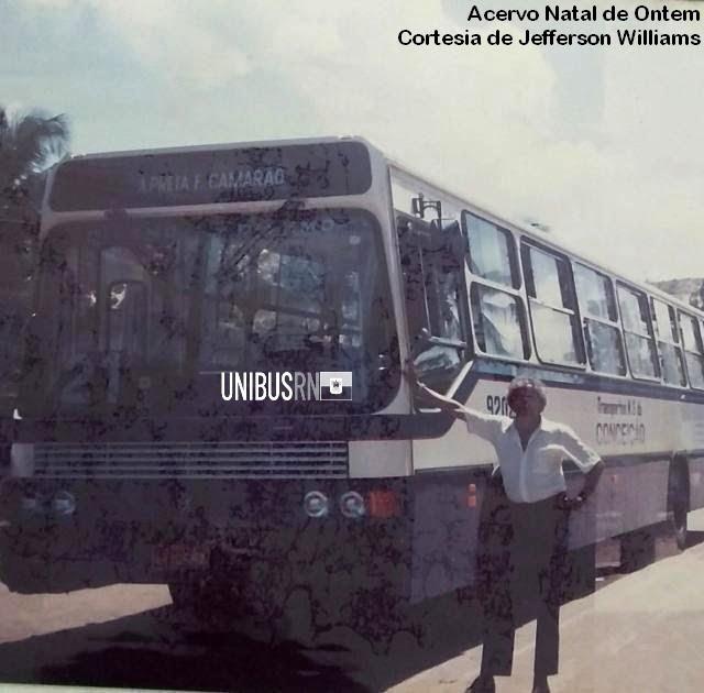 #TBT Unibus RN: A empresa Nossa Senhora da Conceição em 1992