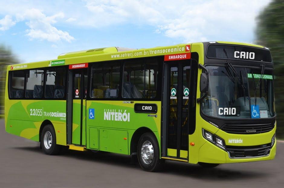 RJ: Caio fornece cinco ônibus para a Expresso Miramar, com proteção para motoristas