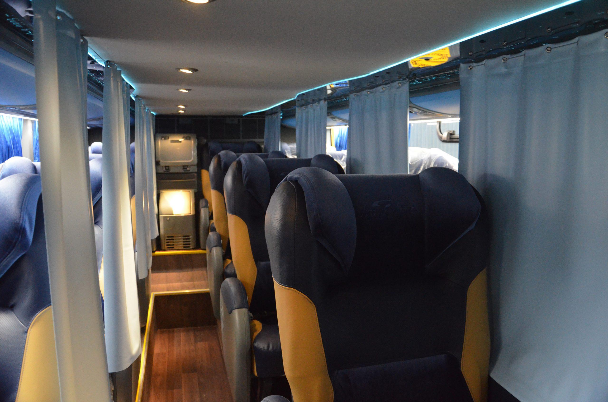 Internacional: Marcopolo exporta primeiro ônibus com a tecnologia Biosafe
