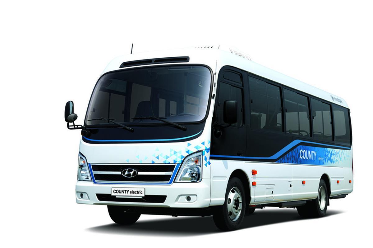 Internacional: Hyundai lança microônibus elétrico que pode ser recarregado com tomada doméstica