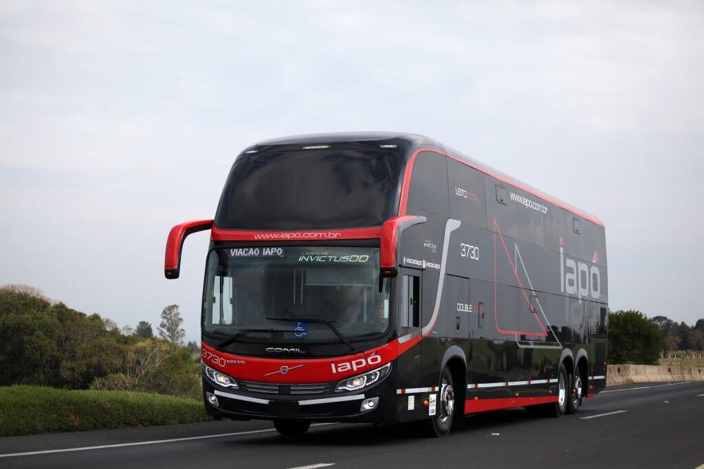 PR: Viação Iapó investe em ônibus Volvo com novas tecnologias de segurança