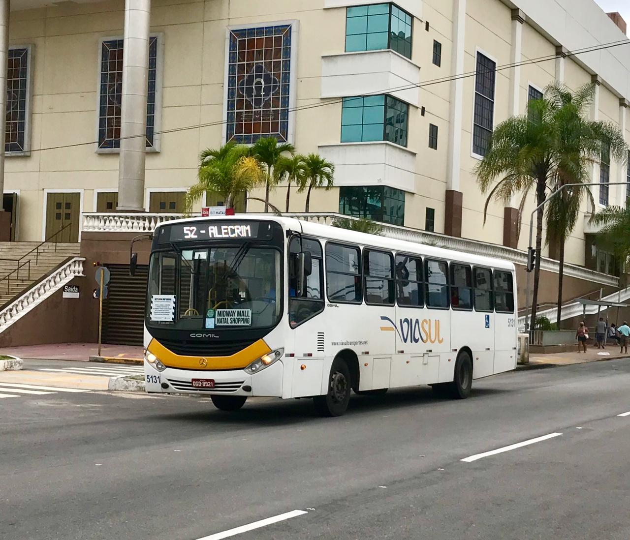 Natal amanhece com ônibus nas ruas; greve ainda não foi reiniciada