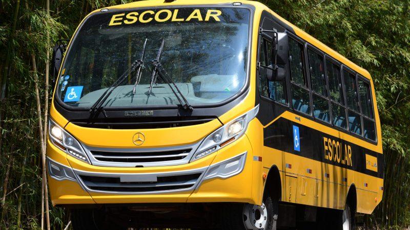 SP: Municípios paulistas recebem 168 ônibus escolares Mercedes-Benz