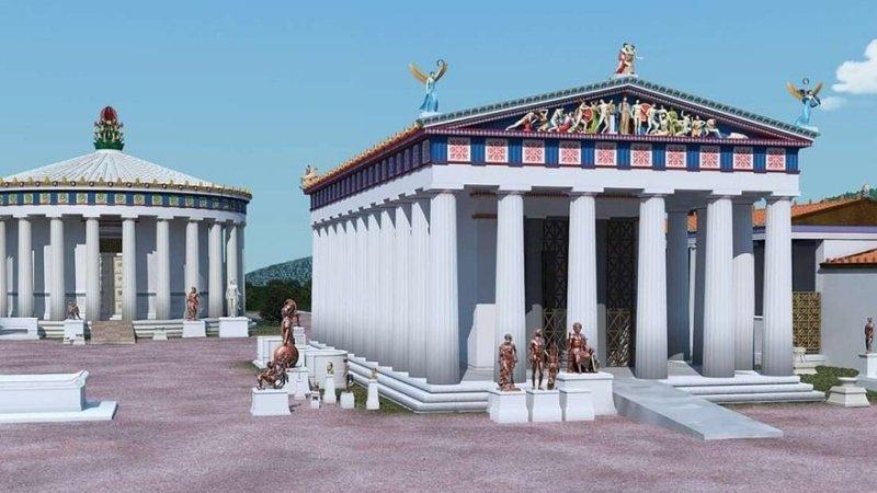 Templos gregos tinham rampas de acesso a pessoas com deficiência