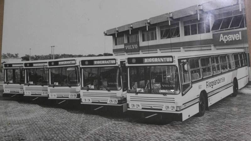 Retrô: Os Urbanus Volvo da Riograndense