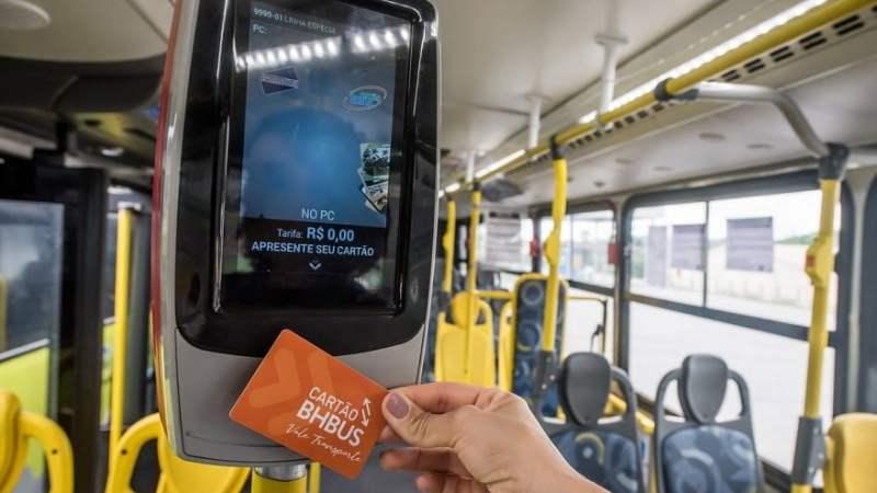 Ônibus do transporte coletivo de Belo Horizonte aderem a programa de fidelidade