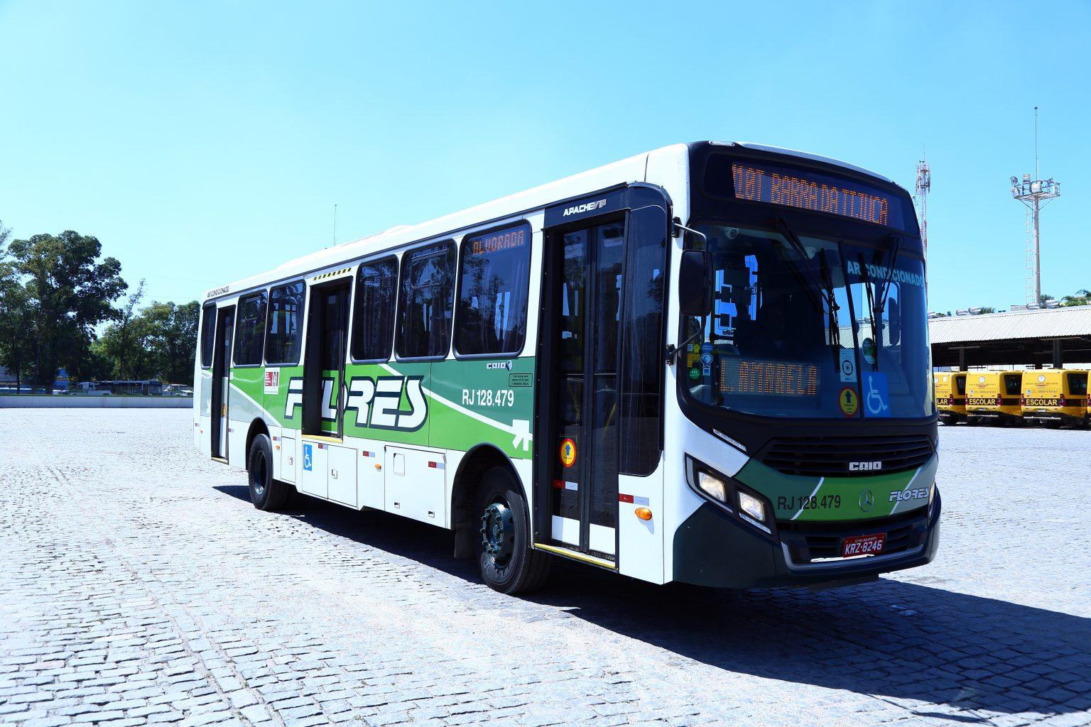 RJ: Transporte Flores faz concurso para premiar melhores fotos de ônibus da empresa