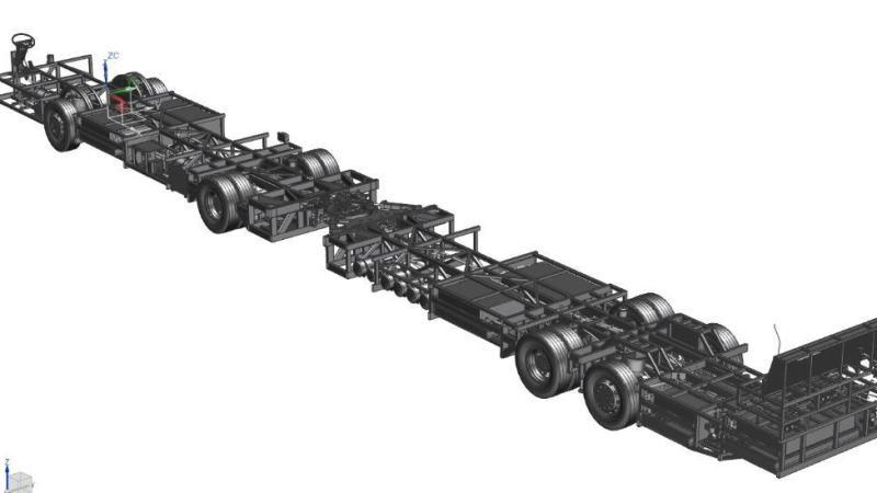 BYD fabrica o primeiro chassi de ônibus elétrico articulado para piso alto do Brasil