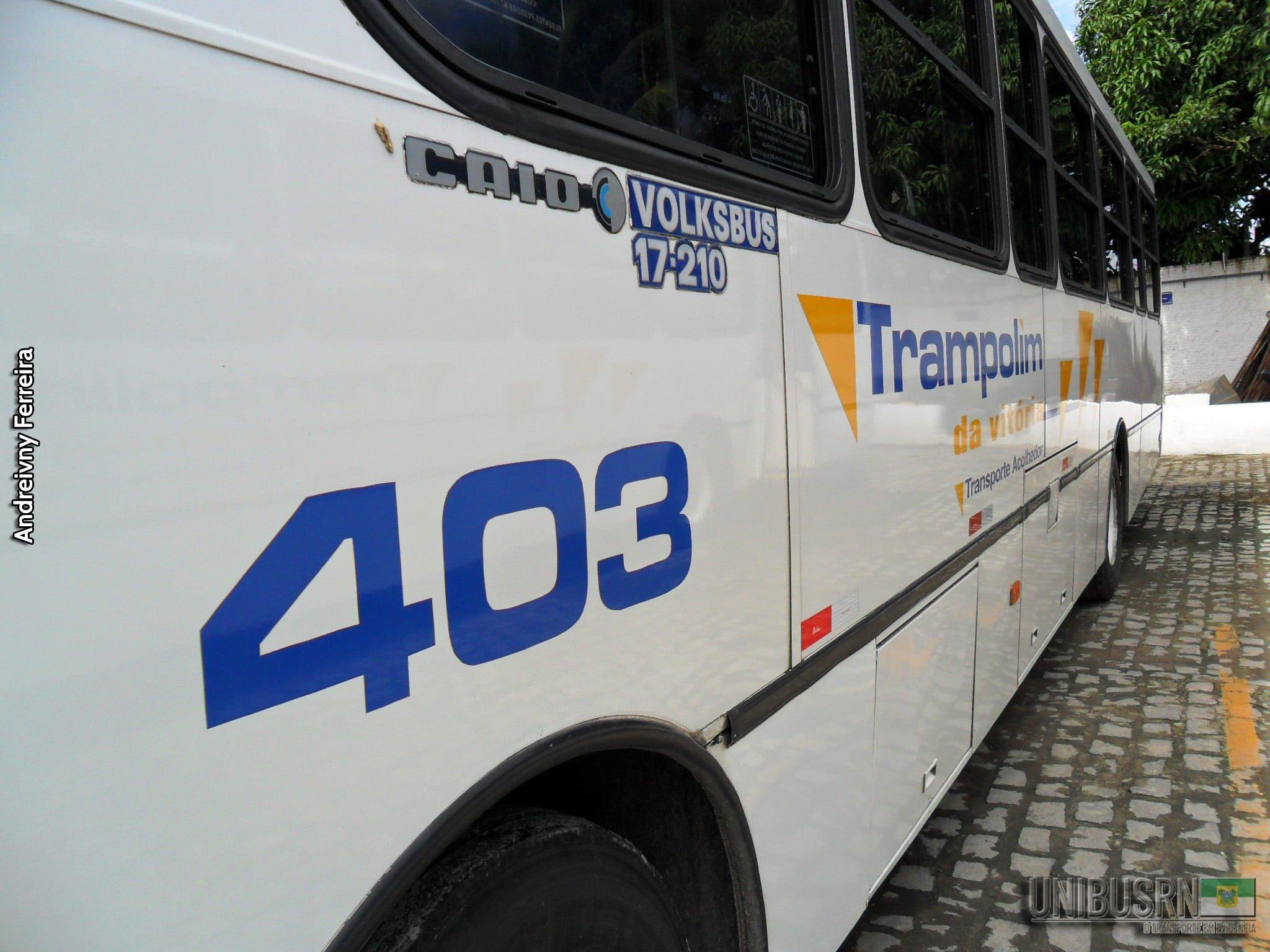 #TBT UNIBUS RN: Trampolim da Vitória, 403