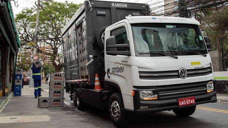 VWCO confirma a venda dos 100 primeiros caminhões elétricos à Ambev