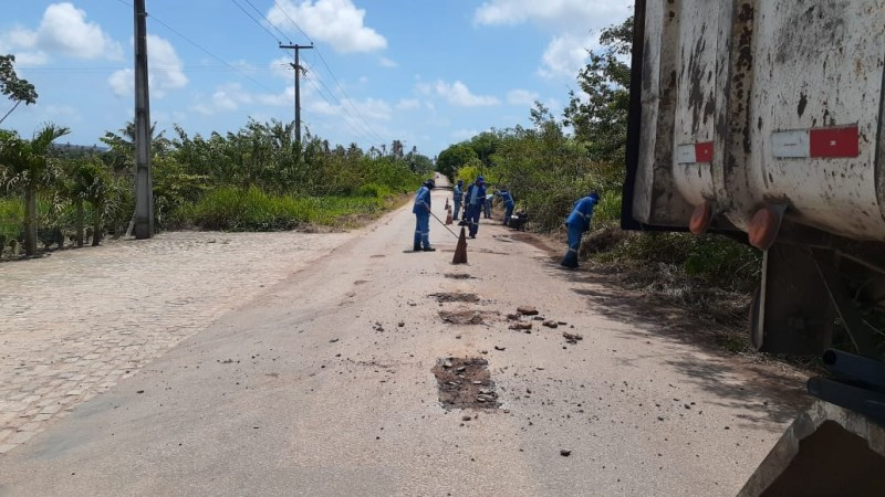 Governo do Estado recupera estrada no Agreste Potiguar