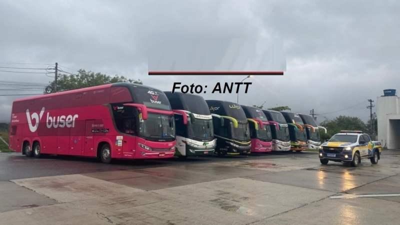 Operação Pascal no Rio apreende mais 9 ônibus por transporte clandestino