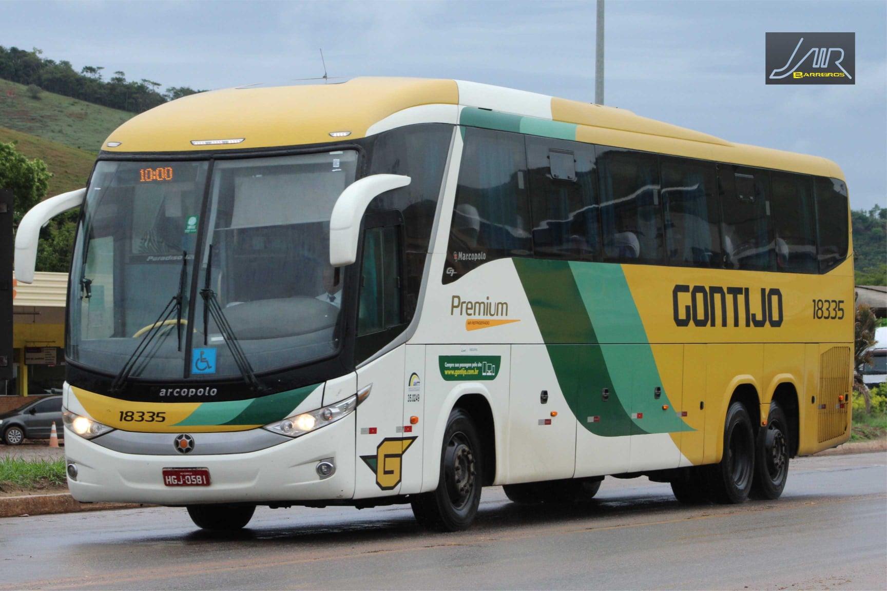 Ônibus rodoviários interestaduais acumulam queda de 54% no total de passageiros em 2020