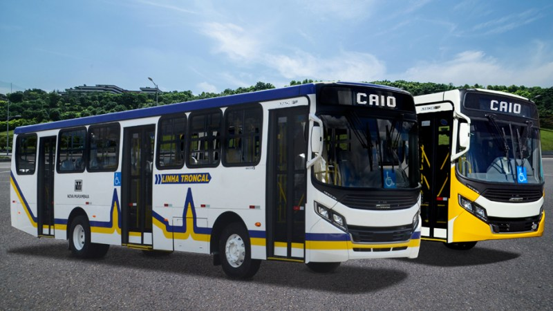 CAIO Induscar entrega ônibus Apache VIP para a Nova Marambaia, em Belém