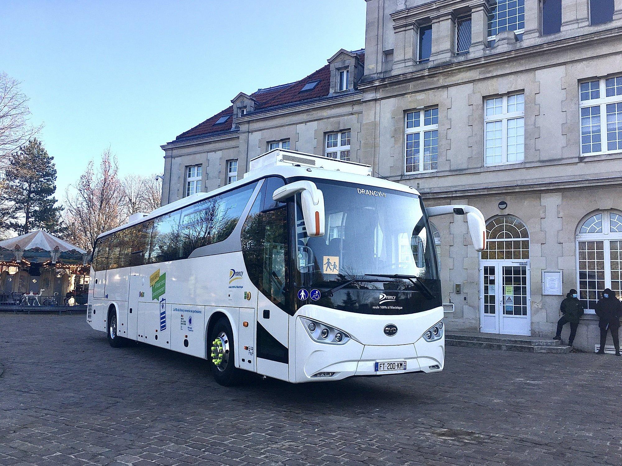 Internacional: Grande Paris recebe primeiro ônibus elétrico da BYD