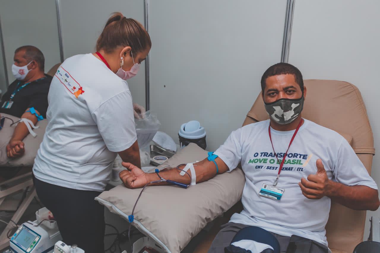 SE: Natal com Mobilidade recebe 278 doações de sangue