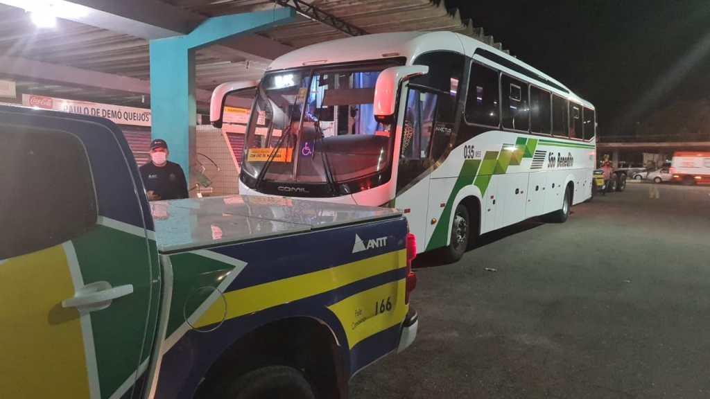 ANTT apreende ônibus operando linha interestadual do Ceará para o Rio Grande do Norte sem autorização