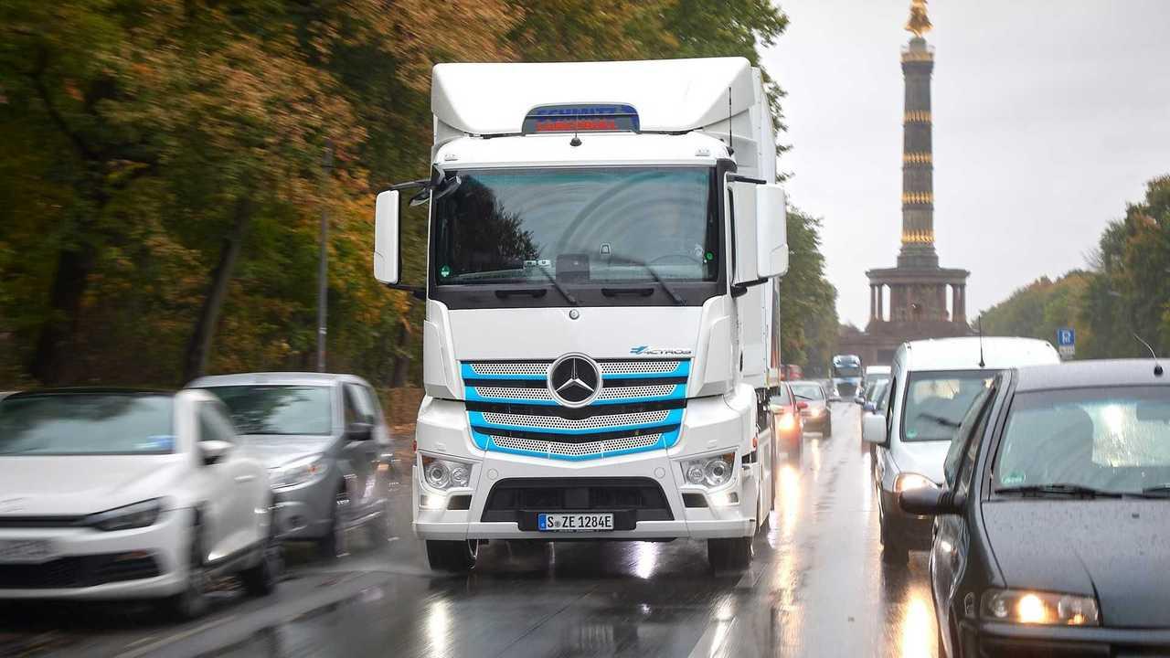 Caminhão terá emissão zero na UE até 2040