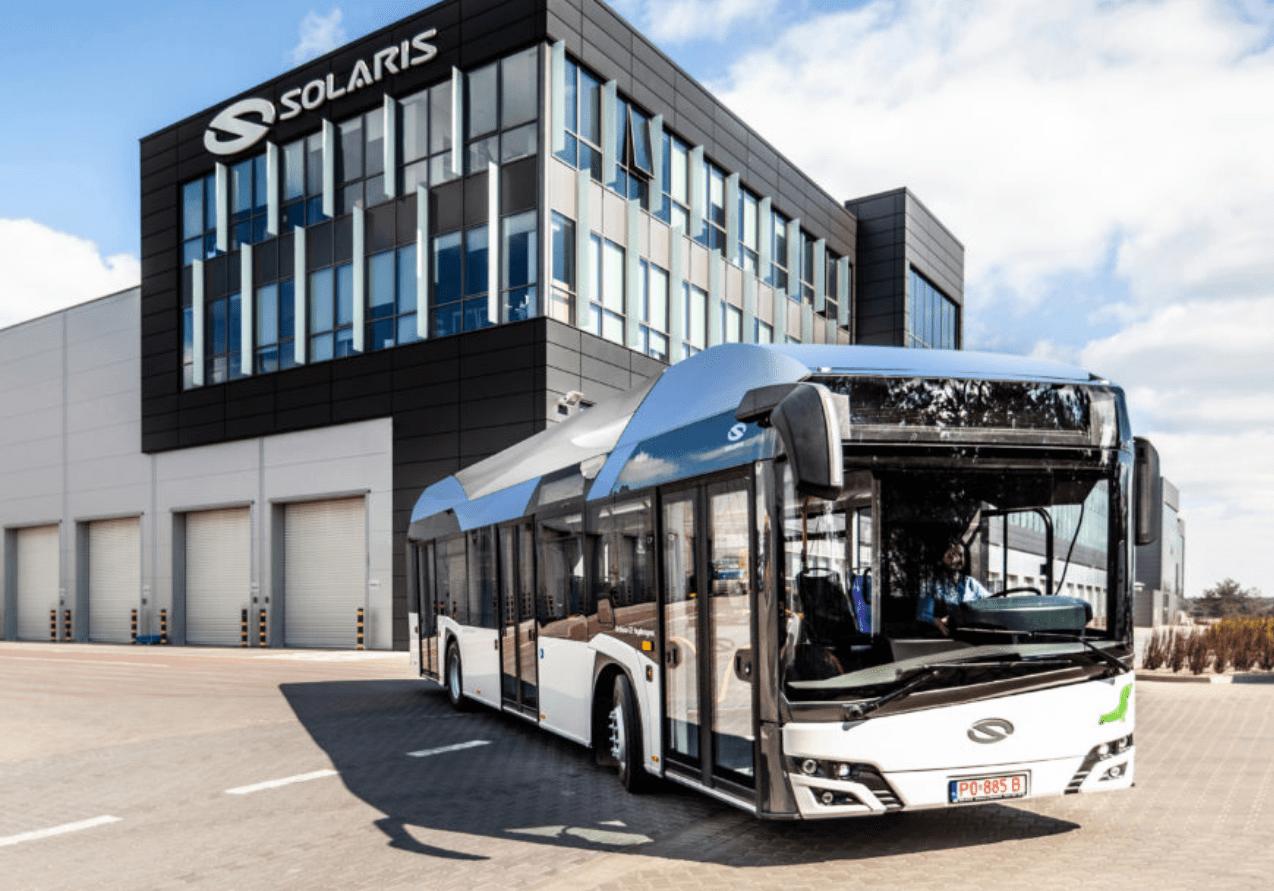 Suécia recebe primeiros ônibus a hidrogênio para o sistema de transporte público